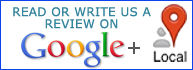 google plus review button